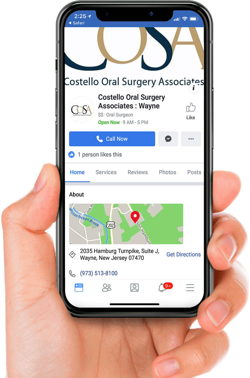 Costello Oral Surgery Associates in Wayne